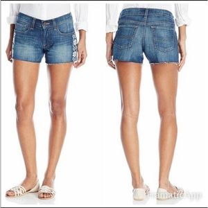 """Lucky Brand """"The Cut Off"""" jean shorts. Size 2."""